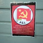Постер, плакат: Leaflet of italian communist party dated 1973