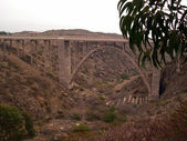 Bridge over pan-american highway — Stock Photo