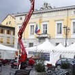 March Fair in Sarzana — Stock Photo