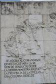 Che Guevara mausoleum, Santa Clara — Stock Photo