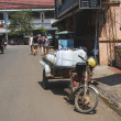 Traffic in Siem Reap - Stock Photo