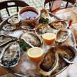 Prepared Oysters — Stock Photo