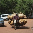 Traffic in Siem Reap — Stock Photo