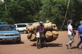 Traffic in Siem Reap — Stock Photo
