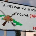 """A este pais no lo podran ocupar jamàs"", La Habana — Stock Photo"