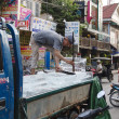 Ice seller in Siem Reap, Cambodia — Stock Photo