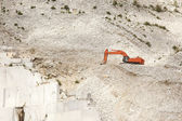Carrara quarry — Stock Photo