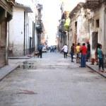 Havana street, Kuba — Stock fotografie