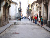 Havana street, Cuba — Stock Photo