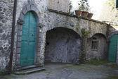 średniowiecznej wiosce o nazwie ponticello w pobliżu pontremoli — Zdjęcie stockowe