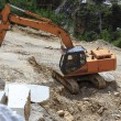 Stock Photo: Working the Marble Quarry - Italy