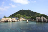 Nang Yuan Island at Koh Tao, Thailand — Stock Photo