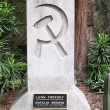 Tombstone of Trotsky and his wife Natalia Sedova in Mexico — Stock Photo #34967541