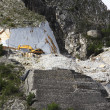 Working the Marble Quarry — Stock Photo
