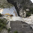 Stock Photo: Working the Marble Quarry