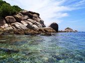 Nádherná pláž v thajsku — Stock fotografie