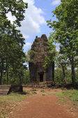 Temple Ruins Near Angkor Wat In Cambodia — Stock Photo
