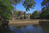 Ancient Ruins In The Jungle, Angkor Wat Cambodia — Stock Photo