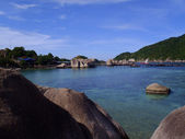 Nang Yuan Island at Koh Tao, Thailand — Photo