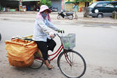 Vendor in the streat of Siem Reap, Cambodia — Stock Photo