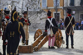 Sarzana Napoleon festival — Stock Photo