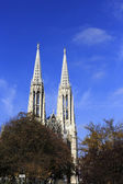 Die votivkirche — Stockfoto