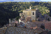 Tuscan hill town — Stock Photo