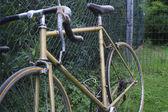 老式自行车 — 图库照片