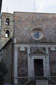 Church in Pitigliano (Italy)  — Stockfoto