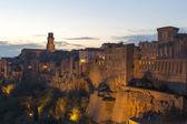 Pitigliano, toscana, itália — Foto Stock