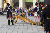 Sarzana Napoleon festival — Stock Photo
