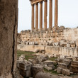 Roman Temple in lebanon - Stock Photo