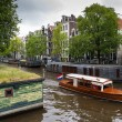 Houseboats in Amsterdam — Stock Photo #13857501