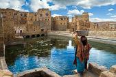 Woman in Yemen — Stock Photo
