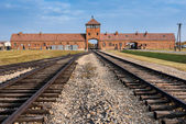 Auschwitz Museum — Stock Photo