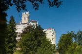 Zamek trakošćan w chorwacji — Zdjęcie stockowe