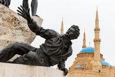 The Martyrs of Lebanon — Stock Photo