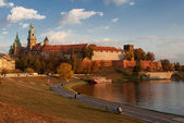 The Wawel Castle in Krakow — Stock Photo