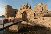 Crusader Castle, Lebanon — Stock Photo