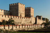 City walls of Istanbul — Stock Photo