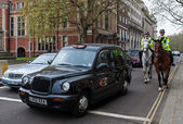 London's cab — Stock Photo