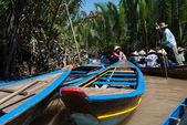 Taxi-boat in Vietnam — Stock Photo