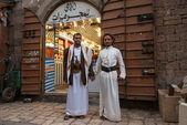 Posing in Sanaa, Yemen — Stock Photo