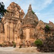 Stock Photo: The Cham Towers in Vietnam