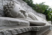 Sleeping Buddha — Foto Stock