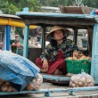 Transporting vegetables in Mekong Delta, Vietnam — Stock Photo