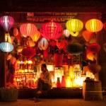 Постер, плакат: Selling lanterns in Vietnam