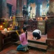 Stock Photo: Praying in Vietnam