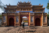 Monuments of Hue, Vietnam — Stock Photo