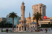 Izmir Clock Tower, Turkey — Stock Photo